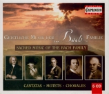 Sacred Music of the Bach Family