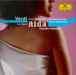 VERDI - Abbado - Aida, opéra en quatre actes