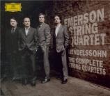 MENDELSSOHN-BARTHOLDY - Emerson String - Quatuors à cordes (intégrale)