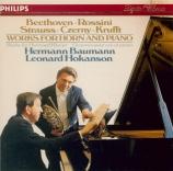 BEETHOVEN - Baumann - Sonate pour cor et piano op.17