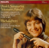 VIVALDI - Petri - Concerto pour piccolo (flautino), cordes et b.c. en do