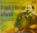 MASSENET - Dervaux - Le jongleur de Notre-Dame, miracle ORTF, Paris, 15 - 12 - 1973 et 29 - 11 - 1963