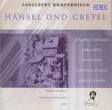 HUMPERDINCK - Matzerath - Hansel et Gretel (Hänsel und Gretel)