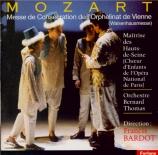 MOZART - Bardot - Missa solemnis en do mineur, pour solistes, chœur et o