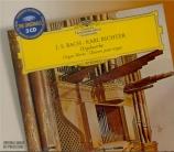 BACH - Richter - Sonate en trio pour orgue n°1 en mi bémol majeur BWV.52