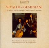 VIVALDI - Dieltiens - Sonate pour violoncelle et b.c. en mi mineur op.14