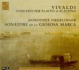 VIVALDI - Oberlinger - Concerto pour flûte à bec, hautbois, violon, bass