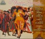 WOLF-FERRARI - Simonetto - I quatro rusteghi