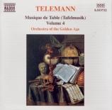Musique de Table (Tafelmusik) vol.4