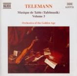 Musique de Table (Tafelmusik) vol.3