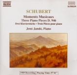 SCHUBERT - Jando - Six moments musicaux, pour piano op.94 D.780
