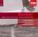 BARBER - Slatkin - Summer music, pour vents op.31