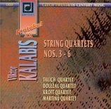 KALABIS - Talich Quartet - Quatuor n°3 op.48