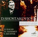 CHOSTAKOVITCH - Kagan - Sonate pour alto et piano op.147