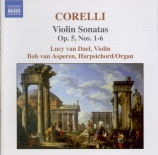 CORELLI - Asperen - Sonate pour violon op.5 n°1