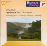 BRUCKNER - Ormandy - Symphonie n°4 en mi bémol majeur WAB 104