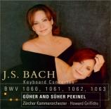 BACH - Pekinel - Concerto pour deux clavecins et cordes en do mineur BWV