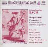 Harpsichord Concertos Vol.2