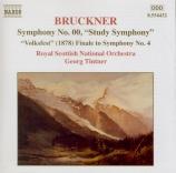 BRUCKNER - Tintner - Symphonie n°00 en fa mineur WAB 99