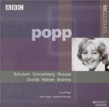 SCHOENBERG - Popp - Vier Lieder op.2