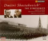 CHOSTAKOVITCH - Kitaenko - Symphonies (Intégrale)