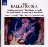 Oeuvres complètes pour violon et piano, et pour piano