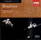 BRUCKNER - Karajan - Symphonie n°7 en mi majeur WAB 107
