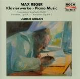REGER - Urban - Aus meinem Tagebuch, Band 1 op.82