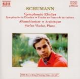 SCHUMANN - Vladar - Études symphoniques, pour piano op.13