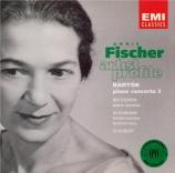 BARTOK - Fischer - Concerto pour piano n°3 Sz.119 BB.127