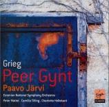 GRIEG - Järvi - Peer Gynt : musique de scène