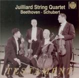 BEETHOVEN - Juilliard Strin - Quatuor à cordes n°14 op.131