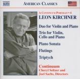 KIRCHNER - Sachs - Duo pour violon et piano