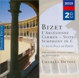 BIZET - Dutoit - L'arlésienne, suite pour orchestre n°1 WD.40