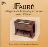 Intégrale de la musique sacrée avec clavier