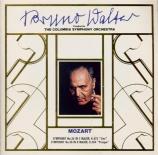 MOZART - Walter - Symphonie n°36 en do majeur K.425 'Linz' import Japon