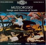 MOUSSORGSKY - Gehrman - Chants et danses de la mort