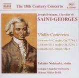 SAINT-GEORGES - Nishizaki - Concerto pour violon op.5 n°1