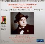 KORNGOLD - Ozawa - Concerto pour violon op.35