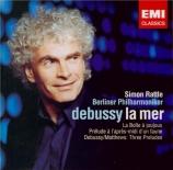 DEBUSSY - Rattle - Prélude à l'après-midi d'un faune, pour orchestre L.8