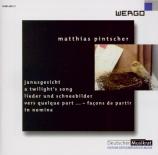 PINTSCHER - Zimmermann - Janusgesicht