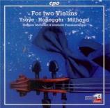 YSAYE - Christian - Sonate pour deux violons op.posth