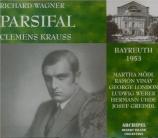 WAGNER - Krauss - Parsifal WWV.111 (Bayreuth, 1953) Bayreuth, 1953