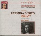 DONIZETTI - Rigacci - Parisina d'Este (live Siena 17 - 09 - 1964) live Siena 17 - 09 - 1964