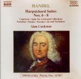 HAENDEL - Cuckston - Suite pour clavier n°6 en fa dièse mineur vol.1 n°6