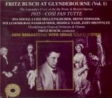 MOZART - Busch - Cosi fan tutte (Ainsi font-elles toutes), opéra bouffe