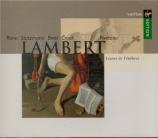 LAMBERT - Rime - Leçons de Ténèbres