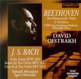 BACH - Oistrakh - Sonate pour violon seul n°1 en sol mineur BWV.1001
