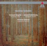 WAGNER - Berliner Solist - Siegfried-Idyll, pour orchestre en mi majeur