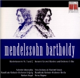 MENDELSSOHN-BARTHOLDY - Gheorghiu - Concerto pour piano et orchestre n°1